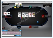 888 Poker Table Screenshot