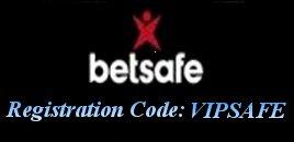 Betsafe Registration Code VIPSAFE