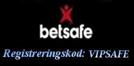 Betsafe Registreringskod VIPSAFE