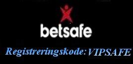 Betsafe Registreringskode VIPSAFE