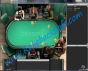 Betsson Poker Table Screenshot