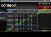ComeOn Poker Lobby Screenshot